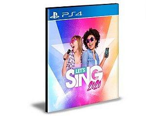 Let's Sing 2020  Ps4 e Ps5 Psn  Mídia Digital