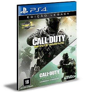 Call Of Duty Infinite Warfare Legacy Edition Ps4 e Ps5  Psn  Mídia Digital