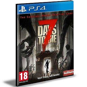 7 Days to Die   Ps4   Psn   Mídia Digital