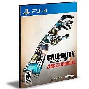 DLCS Call of Duty Black Ops III Edição Zombies Chronicles Ps4 e Ps5 Psn Mídia Digital
