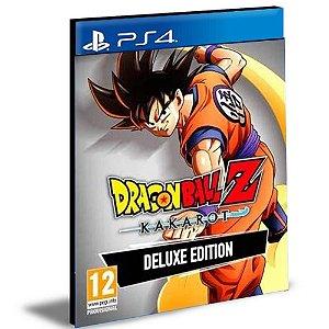 Dragon Ball Z Kakarot Edição De Luxo Ps4 e Ps5 Psn Mídia Digital