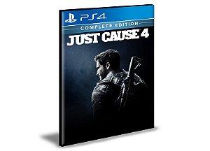 Just Cause 4 Edição Completa Ps4 e Ps5 Psn Mídia Digital