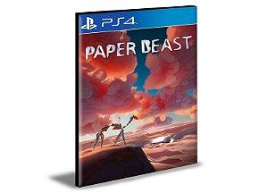 Paper Beast  Ps4 e Ps5 Psn  Mídia Digital
