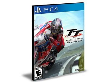 Tt Isle Of Man Ride On The Edge  Ps4 e Ps5 Psn  Mídia Digital