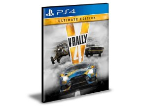 V-Rally 4 Ultimate Edition Ps4 e Ps5 Psn Mídia Digital