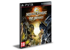 Mortal Kombat vs DC Universe Ps3 Mídia Digital