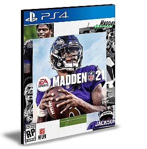 Madden NFL 21 Standard Edition  Ps4 e Ps5 Mídia Digital