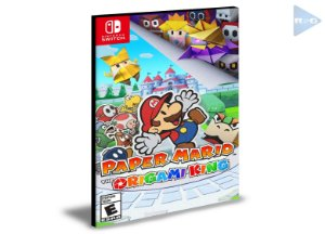 Paper Mario The Origami King  Nintendo Switch Mídia Digital