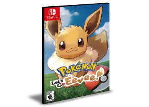 Pokémon Let's Go Eevee | Nintendo Switch | Mídia Digital