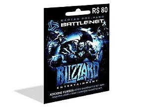 Cartão Battle.Net R$80,00