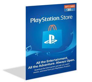 Cartão Playstation Psn $30 (20+10) Dólares - Usa