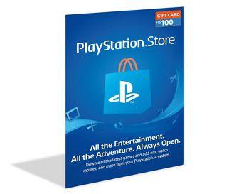 Cartão Playstation Psn $100 (50+50) Dólares