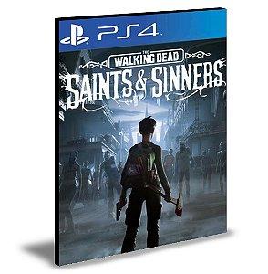 The Walking Dead: Saints and Sinners   Ps4 -  Psn  Mídia Digital