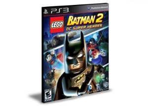 LEGO Batman 2 DC Super Heroes Ps3 Psn Mídia Digital