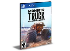 Monster Truck Championship PS4 e PS5 PSN MÍDIA DIGITAL