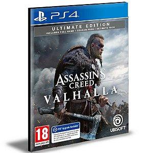 Assassins Creed Valhalla Ultimate Ps4 Mídia Digital