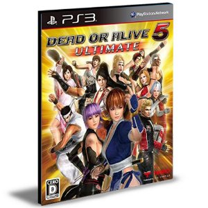 Dead Or Alive 5 Last PS3 Mídia Digital