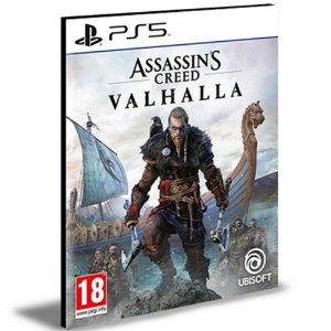 Assassins Creed Valhalla Ps5 Português - Mídia Digital
