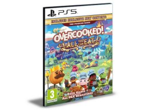 Overcooked! All You Can Eat PS5 PSN Mídia Digital