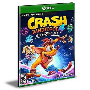 Crash Bandicoot 4 It's About Time Xbox One e Xbox Series X|S MÍDIA DIGITAL