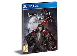 Immortal Realms: Vampire Wars Ps4 e Ps5 Psn Mídia Digital