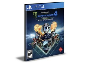 Monster Energy Supercross - The Official Videogame 4 - Ps4  Mídia Digital