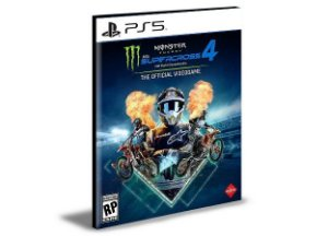 Monster Energy Supercross - The Official Videogame 4 - Ps5  Mídia Digital