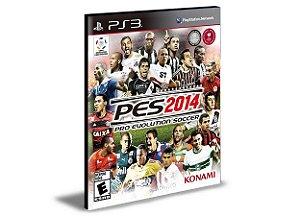 PES 2014 PS3 PSN MÍDIA DIGITAL