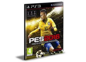 PES 2016 Ps3 Psn Mídia Digital