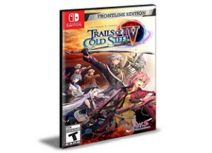 The Legend of Heroes Trails of Cold Steel IV Nintendo Switch  Mídia Digital