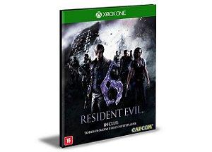 RESIDENT EVIL 6 Português Xbox One e Xbox Series X|S   Mídia Digital