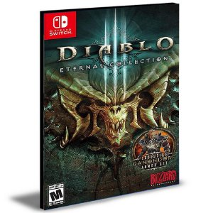 Diablo III Eternal Collection Português Nintendo Switch Mídia Digital
