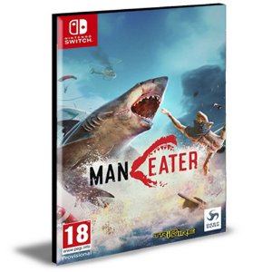 Maneater  Nintendo Switch Mídia Digital