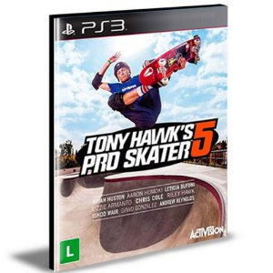 Tony Hawk's Pro Skater 5 Ps3 Psn  Mídia Digital