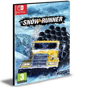 SnowRunner Nintendo Switch Mídia Digital
