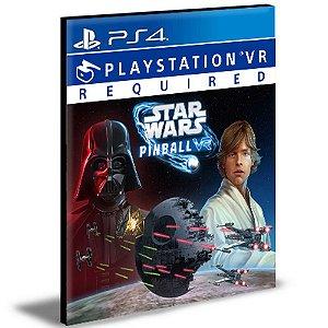 Star Wars Pinball VR Ps4 e Ps5 Psn Mídia Digital