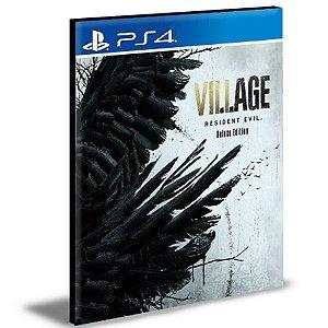 Resident Evil Village Versão Deluxe Ps4 Português Psn Mídia Digital