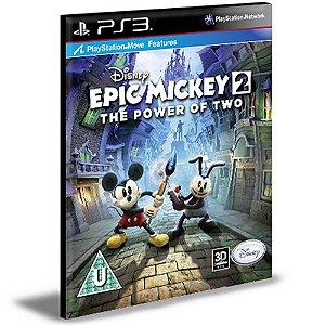 Epic Mickey 2: The Power Of Two Ps3 Psn Mídia Digital