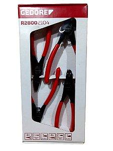 Jogo De Alicates Para Anéis Com 4 Peças Gedore Red R28002104