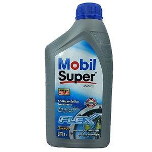 OLEO MOBIL SUPER SAE 10W40 API SN SEMI SINTETICO VW500.00