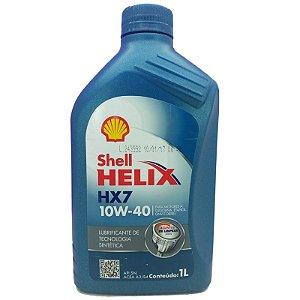 Shell Helix HX7 10w40 semissintético  API SN 1 L
