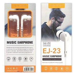 Fone de Ouvido Hi-Fi Sound - EJ-23