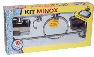 Kit Acessório para banheiro Minox 5 peças