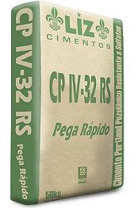 Cimento CPIV-32 RS Liz 50kg