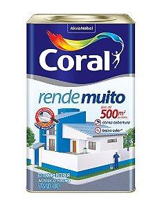 Tinta Coral Rende Muito Branco Fosco 18L