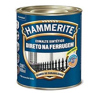 Esmalte Sintético Hammerite Brilhante Branco 800mL