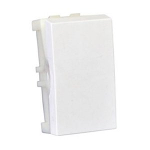 Modulo Interruptor Simples Branco Linha Home Blux