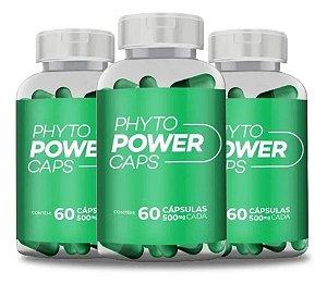 Phyto Power Caps - 60 Cápsulas 3 Unidades