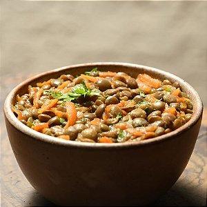 Sopa de lentilhas e cenoura ao curry