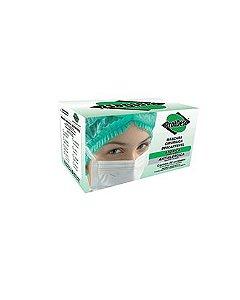 Máscara Tripla c/ Elástico Bca. Protdesc cx c/50